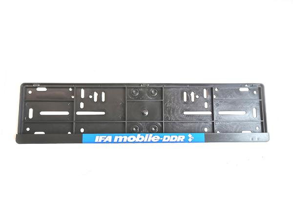 Kennzeichenhalter Kunststoff IFA mobile-DDR