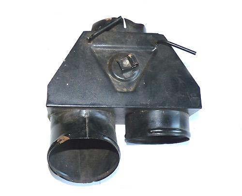 Mischkammer bzw. Heizluftverteiler