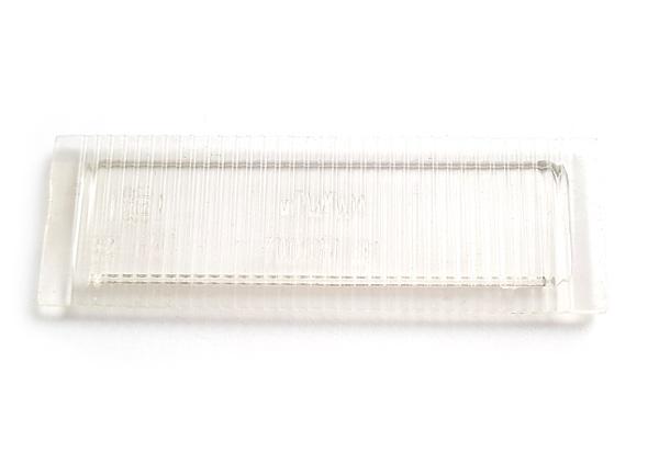 Plasteglas Nummernschildbeleuchtung Trabant P601 T 1.1
