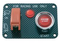 Schalterblende -Rallye- für Zündung und Anlasser