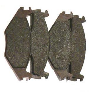 Scheibenbremsbelagsatz für Trabant Vorderachse mit VW-Bremse (4 Stück)