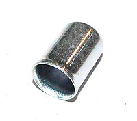 Schlauchhülse als Endstück für 6 mm Stahlflex-Benzinschlauch