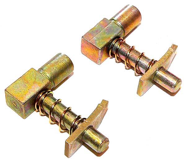 Bremsnachsteller Paar (Bolzen+Feder+Stopper) für Qek Junior, Camptourist usw. mit hydr. Bremse