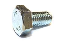 Schraube M10x25 verzinkt (Stück)