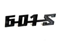 Schriftzug --601 S-- ORIGINAL Plaste Trabant P601