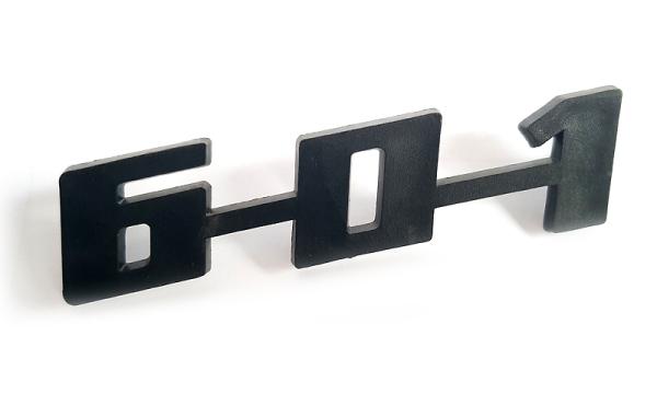 Schriftzug --601--  ORIGINAL Plaste Trabant P601