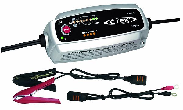 Batterieladegerät 5A, Erhaltungsladegerät elektronisch 12 Volt CTEK MXS 5.0