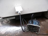 Strom-Einspeisedose CEE für Qek-Wohnwagen, Caravan,...