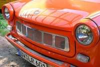 Trabi Grill Edelstahl poliert Trabant P601   1.1 Limited...