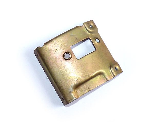 Trägerblech für Lenksäulenblinkschalter Trabant P601