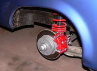VW-Scheibenbremse Hinterachse für Trabant P601 und 1.1 komplett