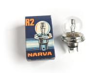 Biluxlampe R2 24V 55-50W P45T für DDR LKW und Nutzfahrzeuge