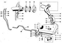 Überwurfmutter für Füllrohr Tankstutzen Trabant 1.1 original