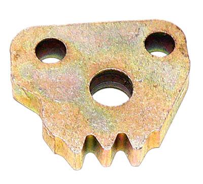Zahnsegment für Sitzlehne oben klein Trabant P601 T1.1 original
