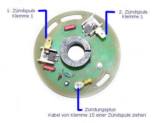 Elektronik-Zündung für Trabant P601 6 Volt