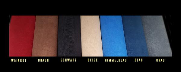 Himmelstoff Wandverkleidung Velour gelocht blau