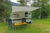 Sonnensegel für Qek Junior Aero 325 Bastei Intercamp etc. Stahl 2,5 Meter
