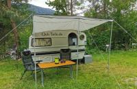 Sonnensegel für Qek Junior Aero 325 Bastei Intercamp etc. Aluminium 2,5 Meter