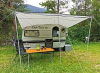 Sonnensegel für Qek Junior Aero 325 Bastei Intercamp etc. Aluminium 3,0 Meter