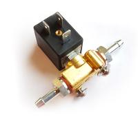 Elektrisches Benzin-Absperrventil komplett 12V mit Stecker und Kabel für 6mm Schlauch