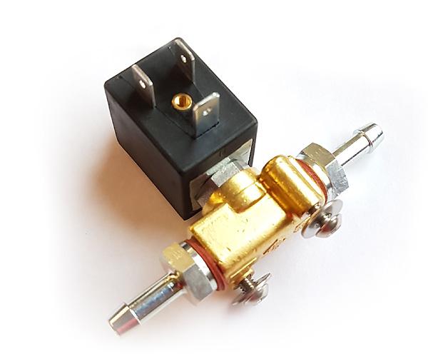 Elektrisches Benzin-Absperrventil komplett 12V mit Stecker und Kabel für 8mm Schlauch