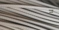 Gummiprofil Kantenschutz Keder mit Stahleinlage für Trabant und QEK Junior uvm. silbergrau glänzend