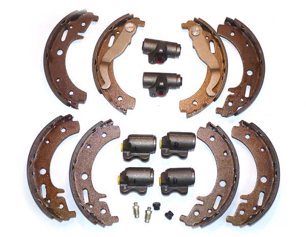 Bremsanlagen-Sparset Trabant P601 mit Handbremshebel