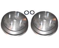 Bremstrommeln mit LK 4x100 Hinterachse Trabant P601 und 1.1 (Paar)