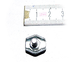 Drahtseilklemme 2mm