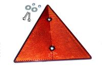 Dreiecks-Rückstrahler für DDR-Anhänger, Qek Junior, Aero, 325, Bastei, HP usw.