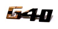 Edelstahl-Schriftzug --G40-- Trabant