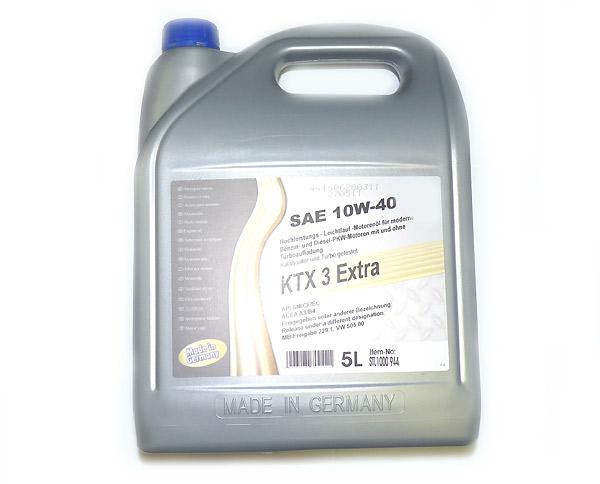 10W-40 Hightec-Synthese-Motoröl, Kanister 5 Liter