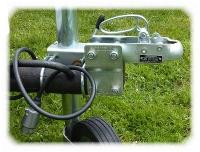 Adapter für 90mm Höhenausgleich Anhängerdeichsel Qek, HP-Serie etc. bis 750 kg