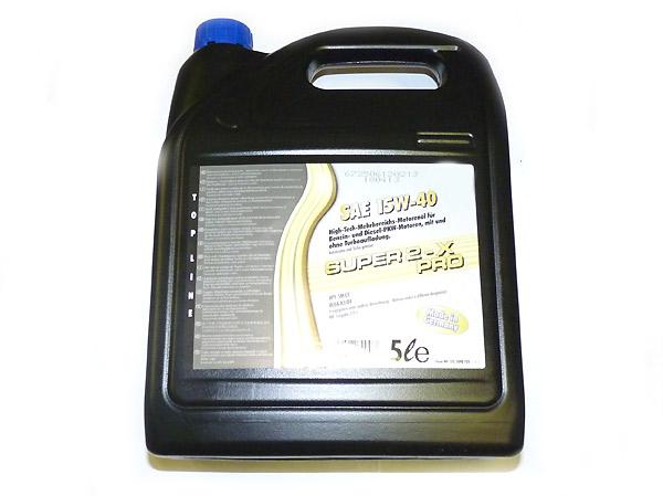 15W-40 Hightec-Motoröl, Kanister 5 Liter