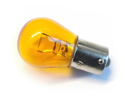 Glühlampe (Blinkerbirne) gelb für Blinker 12V 21W