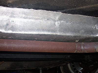 Hitzeschutzmatte 50x45 cm für Katalysator, Auspuff etc.